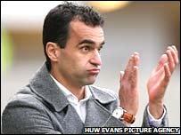 Swansea manager Roberto Martinez