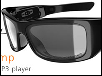 Sun glasses featured on the Ineyewear site