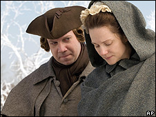 Paul Giamatti and Laura Linney in John Adams