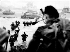 More than three million service personnel took part in D-Day