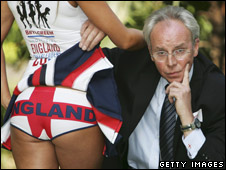 Sven-Goran Eriksson lookalike, Derek Williams (file photo)