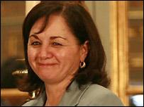 Ministra de Justicia de Perú, Rosario Fernández (Foto: página de la presidencia de Perú)