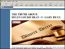 The Dean divorce website