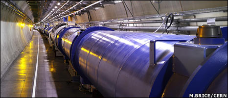 LHC tunnel (M. Brice/Cern)