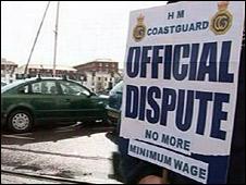 Coastguard strike
