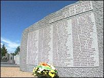 War memorial in Maille