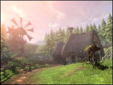 Screenshot of Fable 2, Microsoft