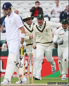 Pietersen, Kallis, Smith, Boucher