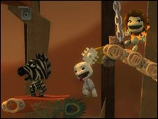 Screenshot from LittleBigPlanet, Sony
