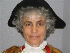 Aberystwyth mayor Sue Jones-Davies