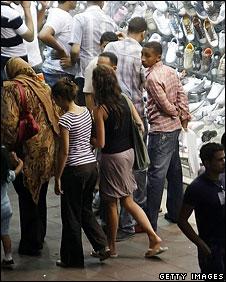 Egyptian street scene
