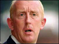 Morecambe Assistant Manager Mark Lillis