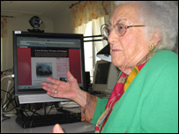 Mar�a Amelia L�pez, bloggera a los 96 a�os