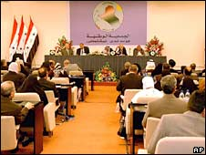 Iraqi lawmakers. File photo