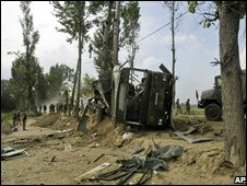 Explosion near Narbal