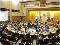 La Liga Árabe reunida en El Cairo