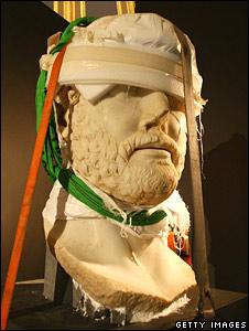 Sculpture of the Emperor Hadrian