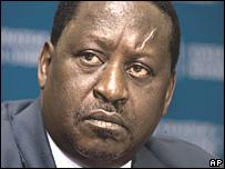 رئيس الوزراء الكيني رايلا اودينجا