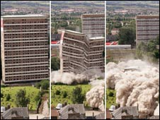 Flats demolition