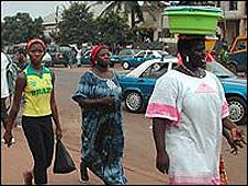 Guinea Bissau street scene