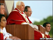 Pope Benedict in Sydney, 20/07