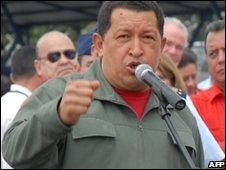 Hugo Chavez, file image