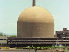 A nuclear reactor in India