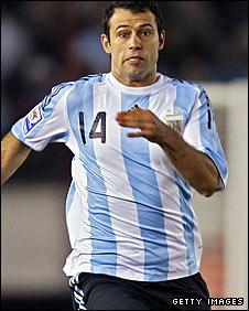 Argentina's Javier Mascherano