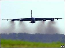 B-52 bomber (file pic)