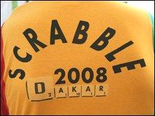 Scrabble shirt