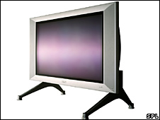 A television set