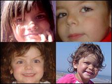 Keavy (top left) Thor, Angel (bottom left) and Willow Gresham