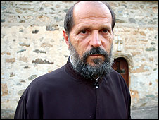 Fr Zivojin Kojic, parish priest of Strpce