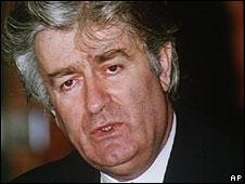 Radovan Karadzic (archive image)