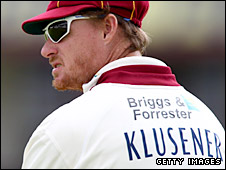 South African Lance Klusener is a Kolpak player for Northamptonshire