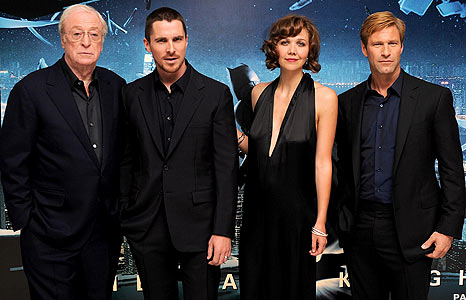 Michael Caine, Christian Bale, Maggie Gyllenhaal, Aaron Eckhart