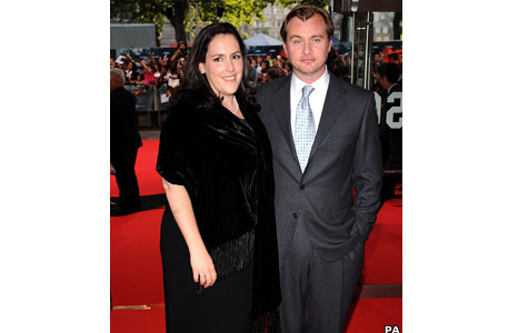 Christopher Nolan and wife Emma
