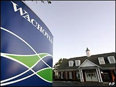 Wachovia bank branch