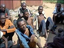 Prisoners at Mbuji Mayi central prison in Kasaï Oriental province UN photo