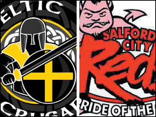Celtic Crusaders and Salford City Reds