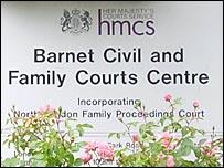 Barnet Civil & Family Courts Centre in North London