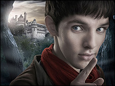Screen grab from BBC's Merlin series