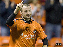 Dundee United striker Noel Hunt