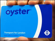 Transport for London's Oyster card