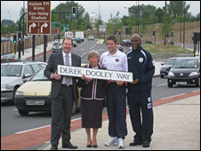 Derek Dooley Way (picture by Grace Shaw)