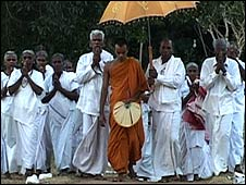 Evening prayers in Veruppamkulam