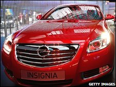 Vauxhall Insignia at London Motor Show
