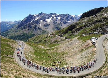 Overview of the Col du Galibier