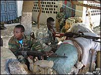 قوات إثيوبية في مقديشيو