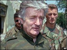 Radovan Karadzic in 1995